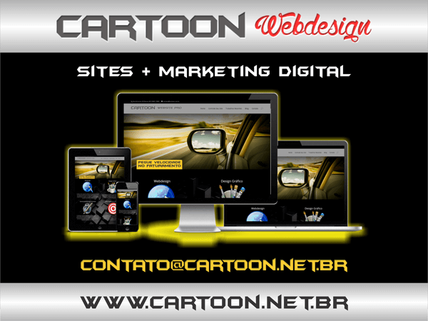 Cartoon Webdesign