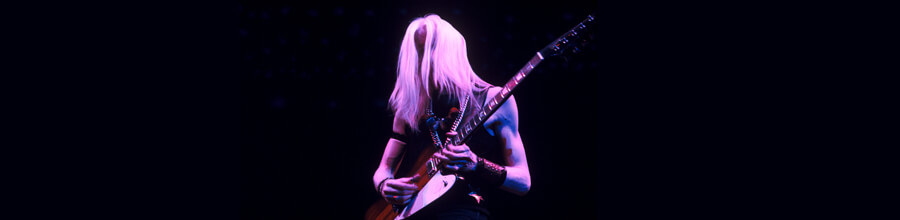 O Blues Rock de Johnny Winter