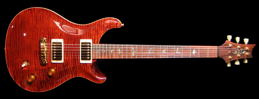 Guitarras PRS Red Tiger